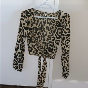 Zaful leopard print long sleeve